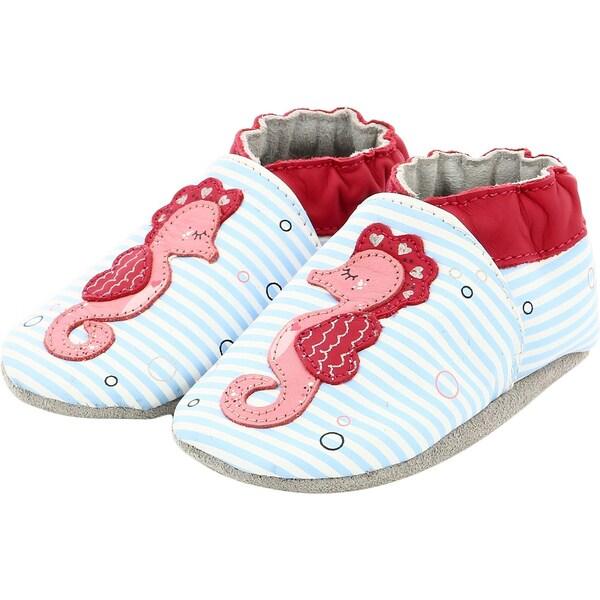 Robeez Krabbelschuhe Sea Dream für Mädchen Seepferdchen