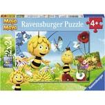 Ravensburger 2er Set Puzzle je 24 Teile 26x18 cm Biene Maja und ihre Freude