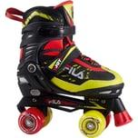 Fila Skates Rollerskate verstellbar schwarz-lime Größe 35-38