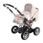 sunnybaby Insektenschutz für Kinderwagen weiß