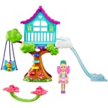 Mattel Barbie Dreamtopia Chelsea Regenbogen Schaukel Spielset mit Puppe