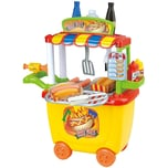 Playgo Gourmet Hotdog Cart - 30 tlg.