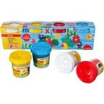 Eberhard Faber Mini Kids Spielknete Basisfarben 4 x 140 g