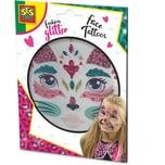 SES Creative Glitter Gesicht Tattoos - Katze