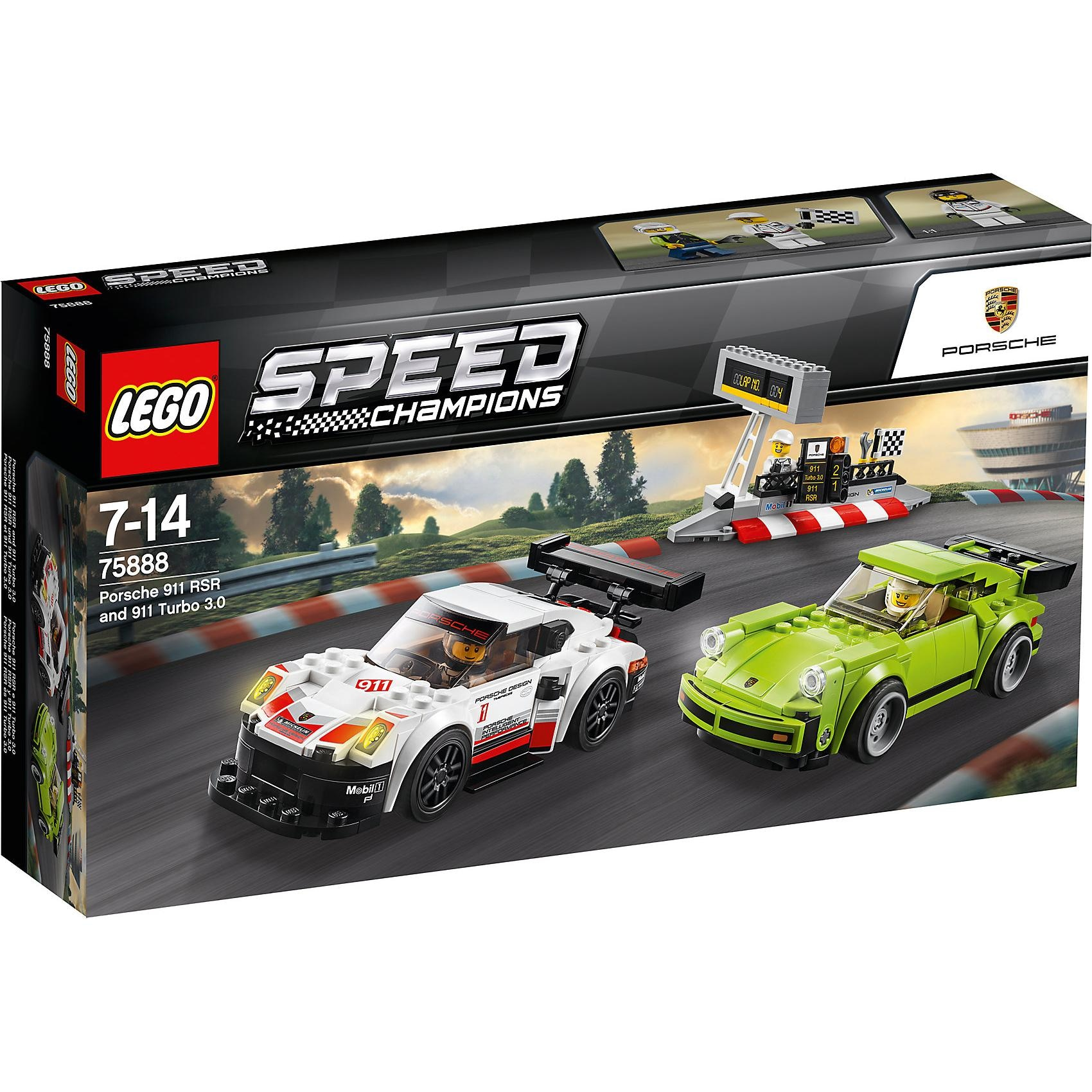 Lego Speed 75888 Porsche 911 RSR und 911 Turbo 3.0
