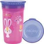 Nuby 360° Trinklernbecher Wonder Cup 300 Ml Pink