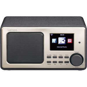 Lenco Internetradio mit USB DIR-110BK schwarz