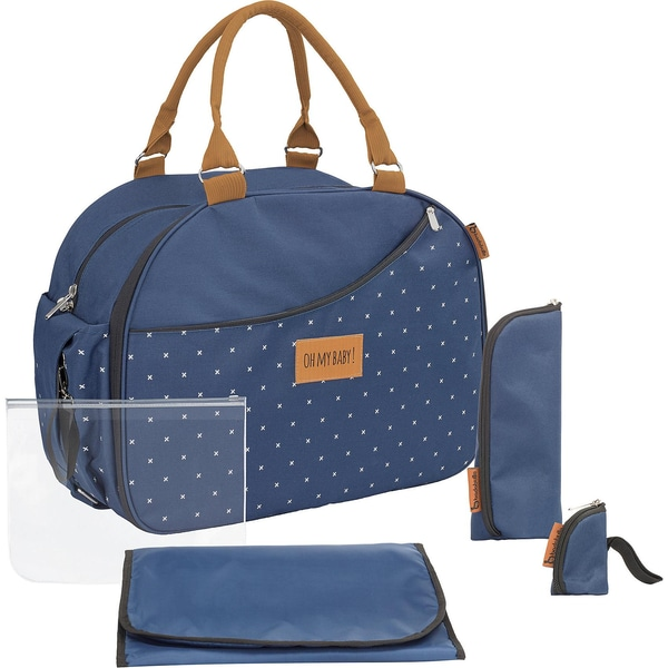 badabulle Wickeltasche Weekend Dark blue