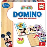 Educa Holz-Domino 28 Teile Mickey Minnie