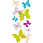 Fenstersticker Schmetterlinge 16-tlg.