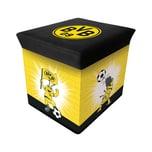 Borussia Dortmund Aufbewahrungsbox EMMA schwarzgelb 28 x 28 cm