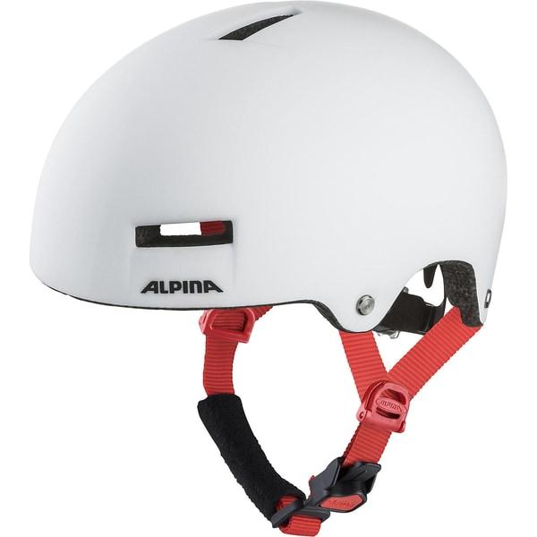Alpina Fahrradhelm Airtime white