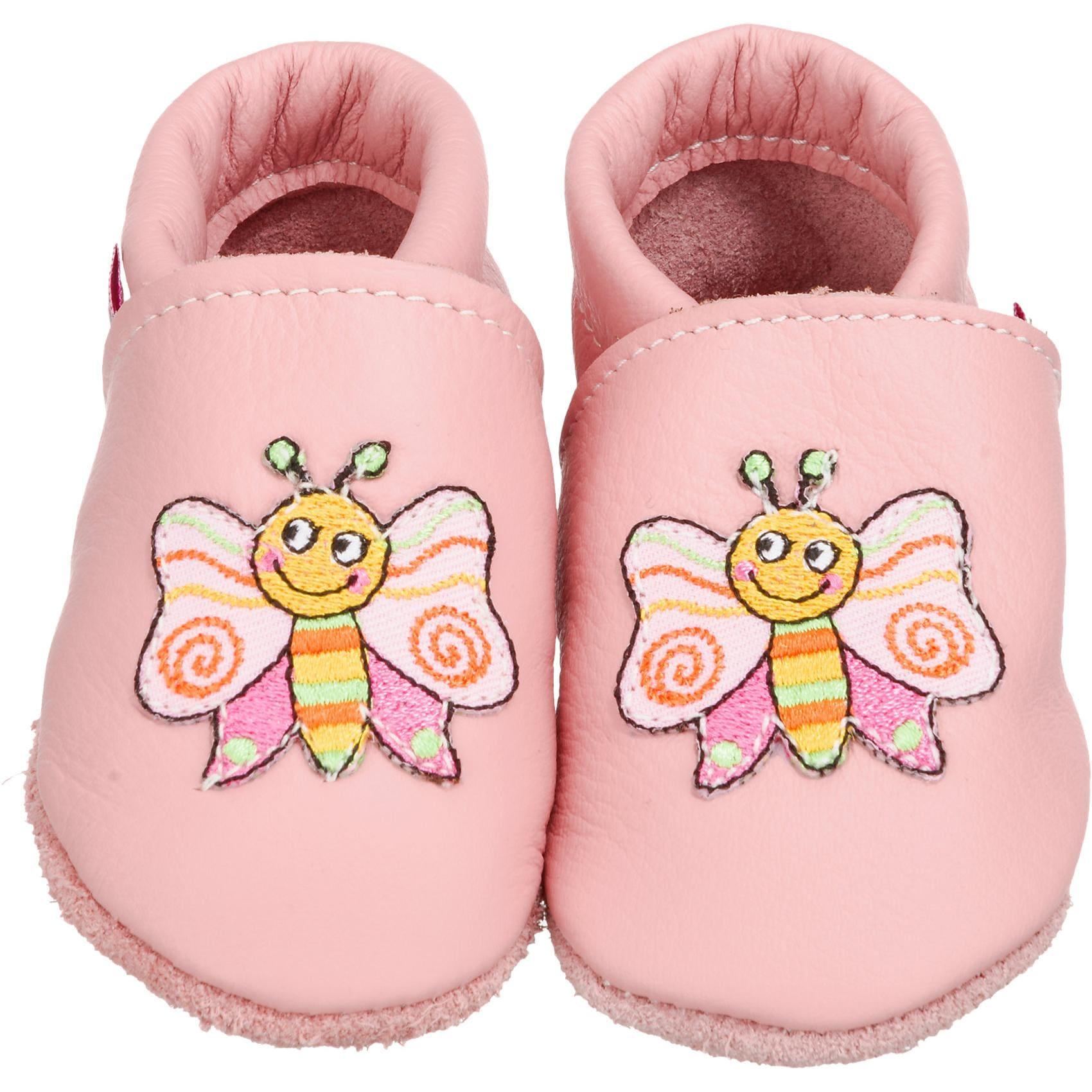 Trostel Krabbelschuhe für Mädchen Schmetterling