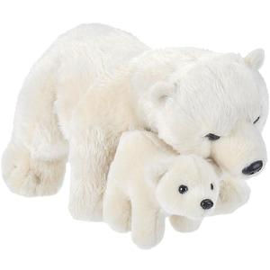 Wild Republic Mama und Baby Eisbär