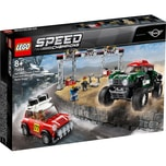 LEGO 75894 Speed Champions Rallyeauto 1967 Mini Cooper S und Buggy 2018 Mini John Cooper Works