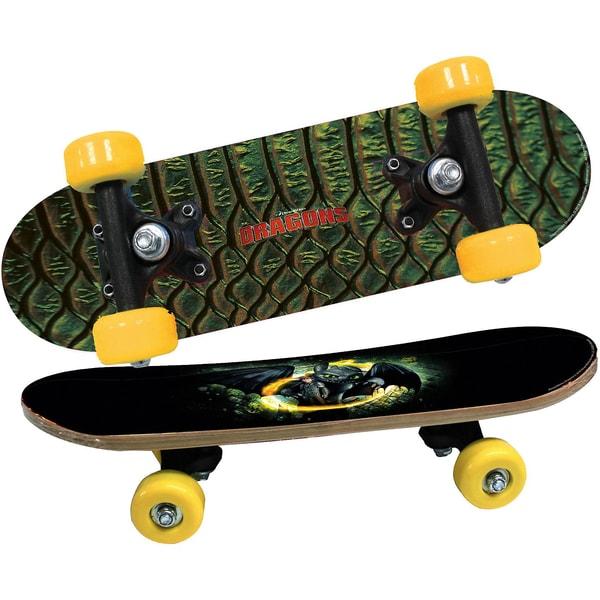 Joy Toy Dragons Mini Skateboard aus Holz