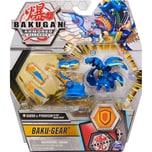 Spin Master Bakugan Armored Alliance Ultra Sabra x Pyravian Fusions-Bakugan mit Baku-Gear 1er Pack