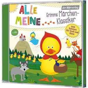 CD Alle meine Grimms Märchenklassiker 2 CDs