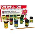 Marabu Starterset Decormatt Acryl 6 x 15 ml + Pinsel