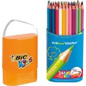 BIC Kids Evolutions Buntstifte in Stiftebox 24 Farben