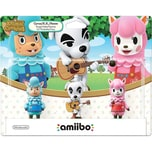 Nintendo Amiibo Animal Crossing 3er Set