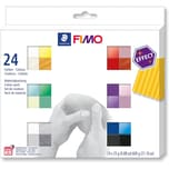 Staedtler Fimo effect Materialpackung 24 x 25 g