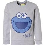 Sesamstraße Sweatshirt mit Kuschelapplikation für Jungen