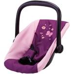 Bayer Puppenzubehör Autositz Schmetterling lila-pink