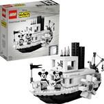 LEGO 21317 Ideas Steamboat Willie mit Mickey und Minnie Mouse