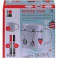 Marabu Porzellan- & Glasmalset Winter Star