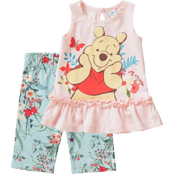 Disney Winnie Puuh Baby Set Top Leggings für Mädchen