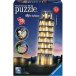 Ravensburger 3D-Puzzle Night mit LED H33 cm 216 Teile Schiefer Turm von Pisa bei Nacht