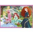 Ravensburger 2er Set Puzzle je 12 Teile 26x18 cm In Der Welt Der Disney Prinzessinnen