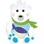 URSUS Laternenbastelset Eisbär