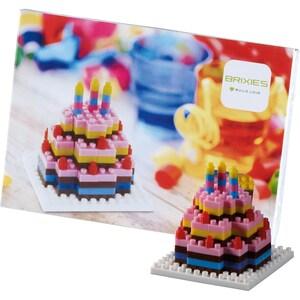 Glückwunschkarte BRIXIES Birthday Kuchen