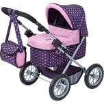 BAYER Puppenwagen Trendy lila gepunktet