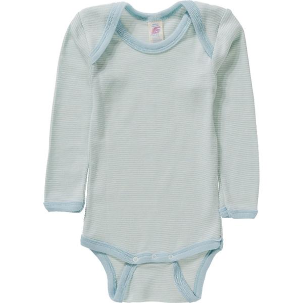 Engel Baby Body für Jungen SchurWolle Seide