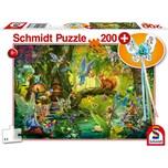 Schmidt Spiele Feen im Wald 200 Teile mit add on Feenstab