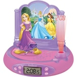 LEXIBOOK Disney Princess Radiowecker mit Projektion
