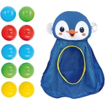 Playgo Badespielzeug Pinguin - Bath Organiser inkl. 10 Bälle