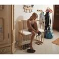 Tobi Beistellbett babybay original natur lackiert extra belüftet