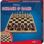 Noris Deluxe Holz - Schach & Dame