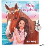 Depesche Miss Melody Tagebuch mit Stickern Motiv 1
