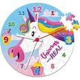 Clementoni Clock Puzzle 96 Teile Einhorn