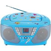 bigben CD-Player mit Radio CD60 Kids blau