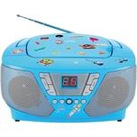 bigben CD-Player mit Radio CD60 - Kids blau