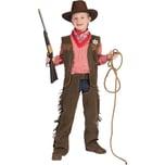 Funny Fashion Kostüm Wild-West-Set 3-tlg.