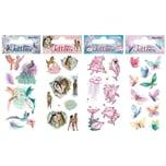 TapirElla Glitter-Tattooset Tiere 2 4 Bögen