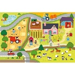 Trefl Giga Puzzle - Landleben 12 Teile