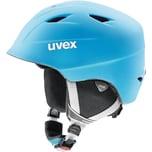 uvex Skihelm airwing 2 pro liteblue-wh mat